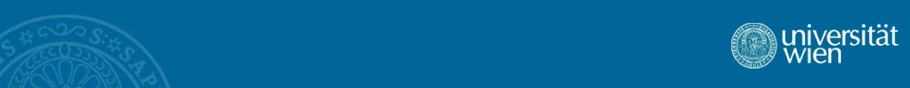 Logo of the University of Vienna
